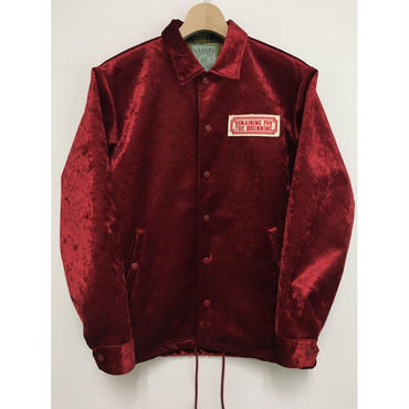 THERMO COACH JACKET - ボルドー