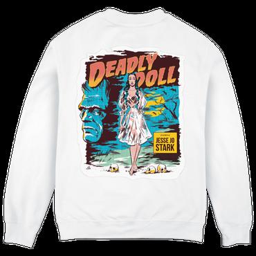 Jesse Jo Stark - deadly doll スウェット (ホワイト)