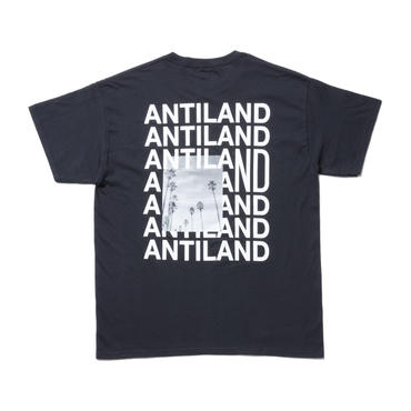 BONES AND BOLTS -TEE (ANTILAND) ブラック