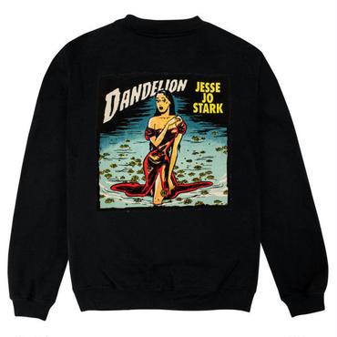 Jesse Jo Stark - dandellionスウェット (ブラック)