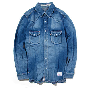 BLUE SAKURA DENIM SHIRTS USED