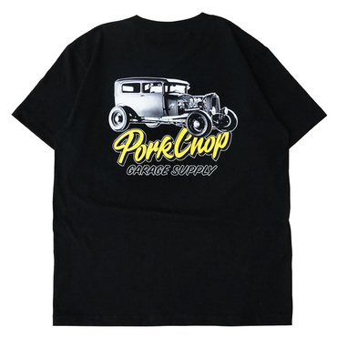 PORKCHOP - VALLEY SPL PHOTO TEE / ブラック