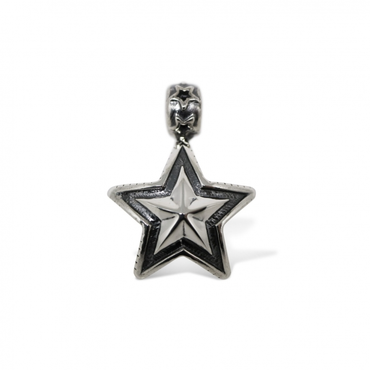CODY SANDERSON - Pendant Double Sided Faceted Star Bead
