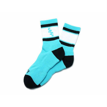 SURF SKATE CAMP - S.S.C Sports Socks(グリーン)