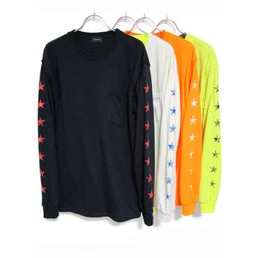 "OVERDESIGN - LAYERED POCKET L/S ""RISING STAR"""