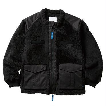 LIBERAIDERS - TACTICAL FLEECE ジャケット(ブラック)