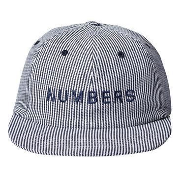 NUMBERS edition - WORDMARK - DENIM 6-PANEL HAT