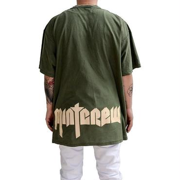 MintCrew Inside Out Rock Tee (オリーブ)
