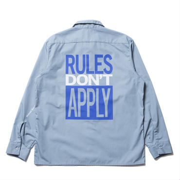 COOTIE - T/C Work Shirt (ブルー)