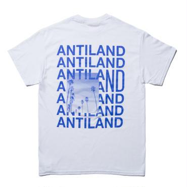 BONES AND BOLTS - TEE (ANTILAND) ホワイト