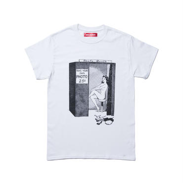 BONES AND BOLTS - TEE (PHOTO BOOTH) ホワイト