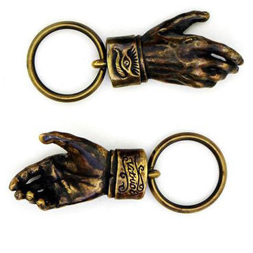 Shake Hands Keyring (Made by vitriol)
