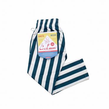 COOK WEAR - Chef Pants キッズ「ワイドストライプ」
