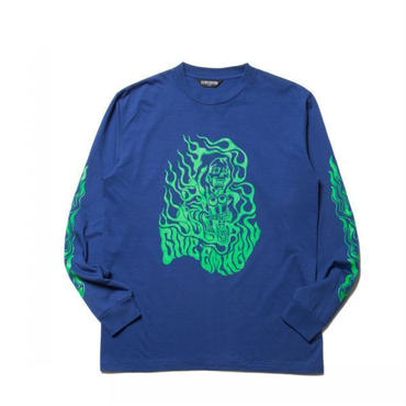COOTIE - PRINT L/S TEE (GIVE 'EM HELL)