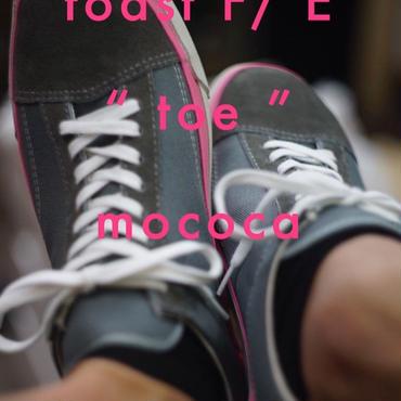 """toast FOOT & EYEWEAR GEAR - """"toe"""" mococa (グレー)"""