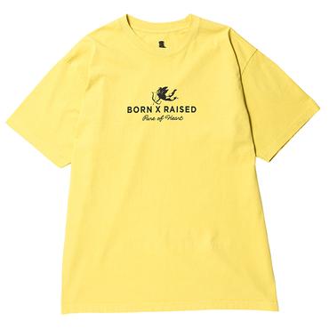 BORN X RAISED - ANGEL CORPORATE Tシャツ