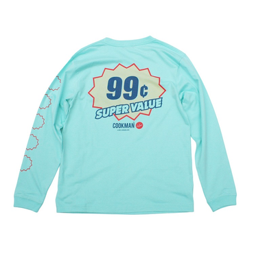 COOKMAN - Long sleeve Tシャツ「SUPER VALUE」
