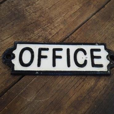 """ダルトン IRON SIGN  """"OFFICE"""""""