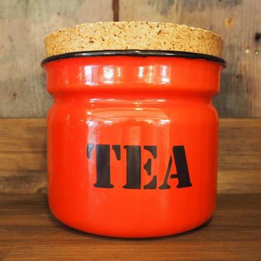 アンティーク(ポーランド製) TEA キャニスター