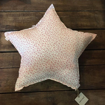Numero74 クッション star cushion pattern (daisy cream-pink)