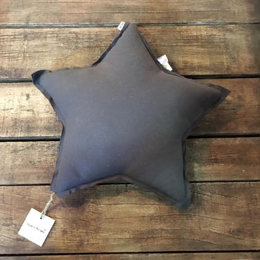 Numero74 クッション mini star cushion (dark grey)