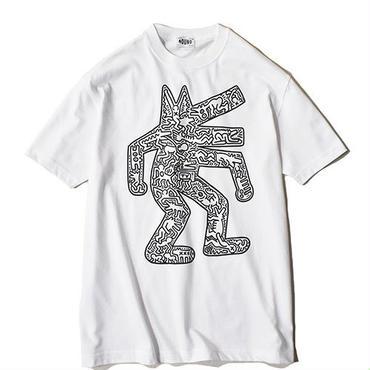 Nouno Keith Haring  ART Tee  <Dog,1986> KH-NN1806