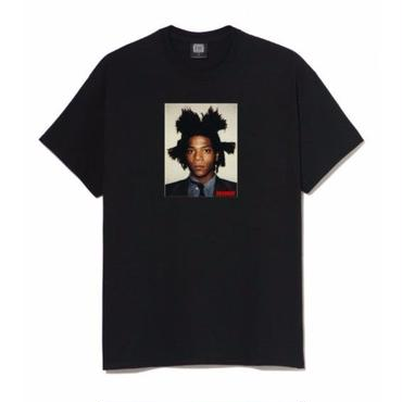 BASQUIAT - BIGGER THAN YOUR ART  Tee  Black