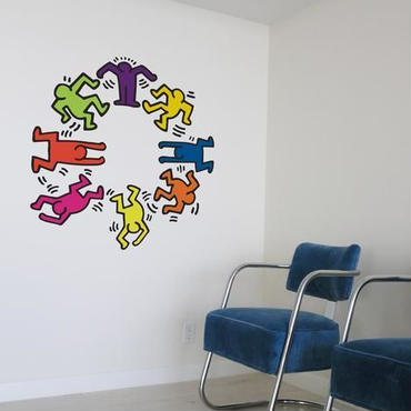 BLIK  Keith Haring  Dancers アソート Wall Sticker