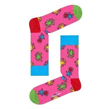 Happy Socks × Keith Haring Dancing Socks