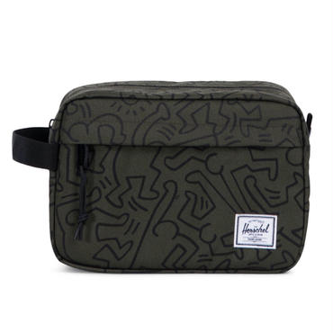 Herschel × Keith Haring Forest Night Chapter Pouch