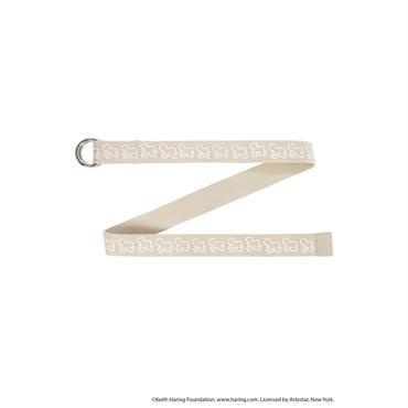 Keith Haring Belt / BEIGE