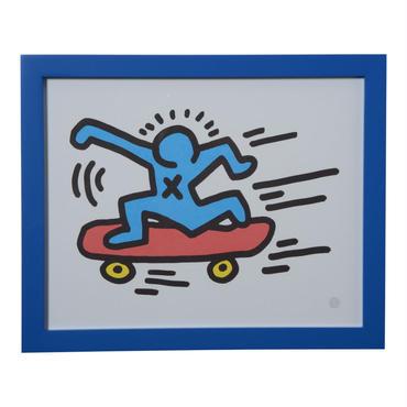 Skater Framed Poster  額装ポスター  スケーター  (サイズ 24×30cm)