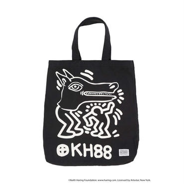 Keith Haring Tote Bag / BLACK