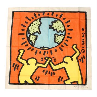Keith Haring  Bandana  Yellow