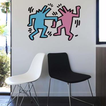 BLIK  Keith Haring  Dancing Dog Wall Sticker