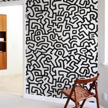 BLIK  Keith Haring  Patern Wall Tiles Sticker