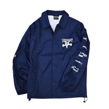 Keith Haring × THRASHER Coach Jacket Navy