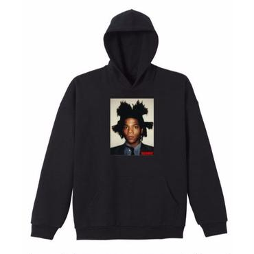 BASQUIAT - BIGGER THAN YOUR ART  Hoodie  Black