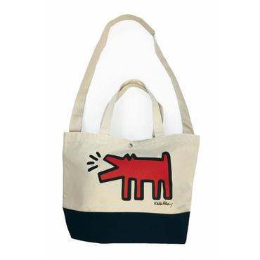Keith Haring Tote Back  (Dog)  キース・ヘリング トートバッグ