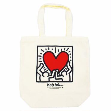 Keith Haring Tote Bag 【White】 キース・ヘリング トートバッグ【ホワイト】
