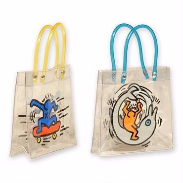 Keith Haring Plastic Bag