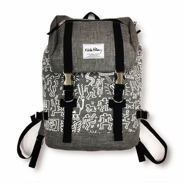 Keith Haring Bag Pack  (Grey)