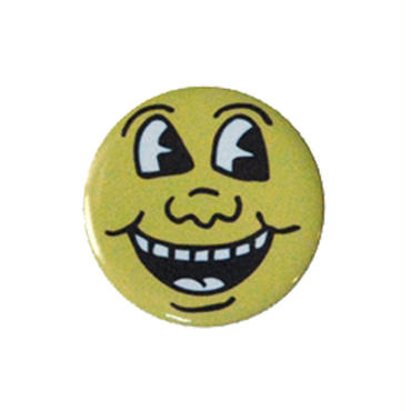 Keith Haring Round Magnet  (Smile Face)