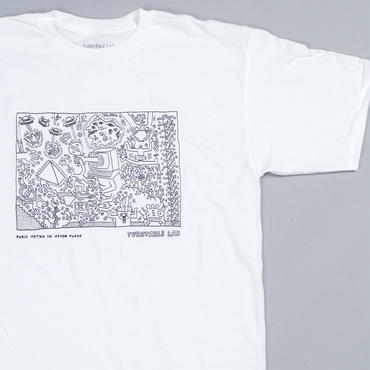 Turntable Lab  Astor Place T-Shirts【White】