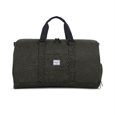 Herchel × Keith Haring Novel Forest Night Duffle Bag