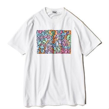 Nouno Keith Haring  ART Tee  <People,1985> KH-NN1805