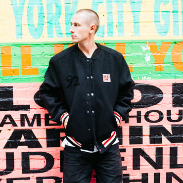 ELEMENT Keith Haring Letterman Jacket