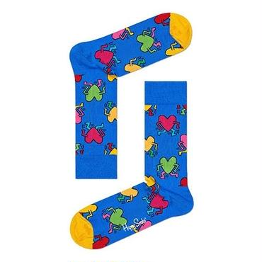 Happy Socks × Keith Haring Running Heart Socks