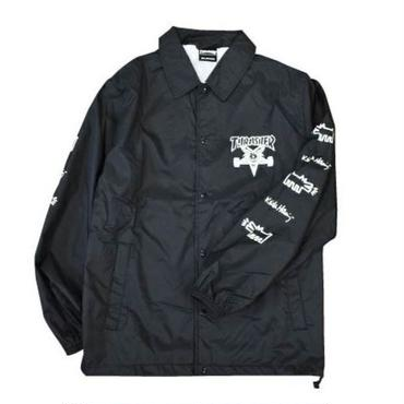 Keith Haring × THRASHER Coach Jacket Black