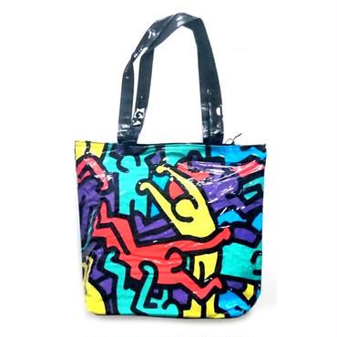 Keith Haring ビニールトートバッグ